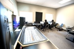 "LAMA's ""Music Production"" program makes great use of the recording lab which is a fully functioning music studio complete with three iso-booths and a neighboring drum room."