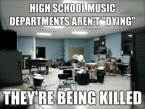 High School Music Programs Dying or Killed?