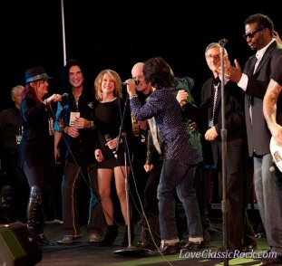 Here is a photo from last year. In the photo is Robin McAuley from Survivor, Janelle Sadler from Natalie Cole's band, Terry Ilous from Great White, Dennis Tufano from the Buckinghams and a host of other people.