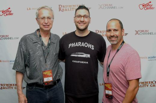 Don Lombardi, Gil Sharone and Michael Packer at DRC 2012.